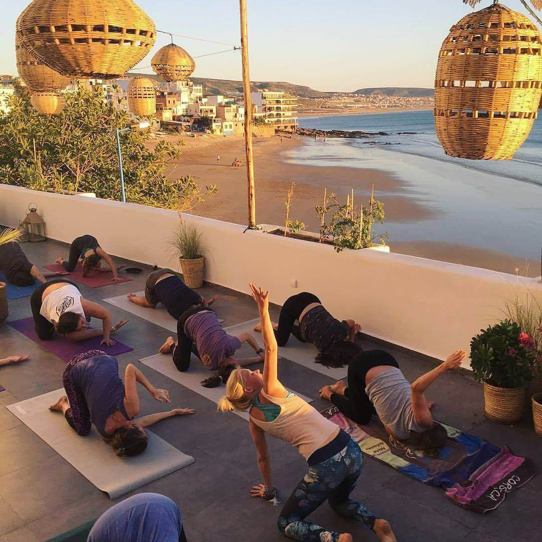 best place to do yoga in taghazout